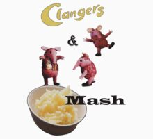 Clangers and Mash Kids Tee