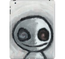 Creepy Face iPad Case/Skin