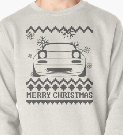 Merry Christmas miata - 2 Pullover