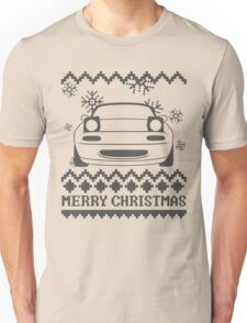 Merry Christmas miata - 2 Unisex T-Shirt
