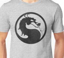 °GEEK° Mortal Kombat B&W Logo Unisex T-Shirt