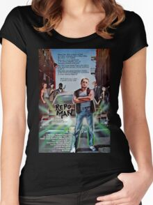 Repo Man Women's Fitted Scoop T-Shirt