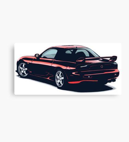 Mazda rx-7 Canvas Print