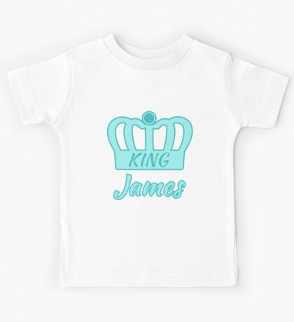 Baby King James Kids Tee