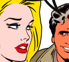 Comics Lieutenant Columbo Vintage Sticker