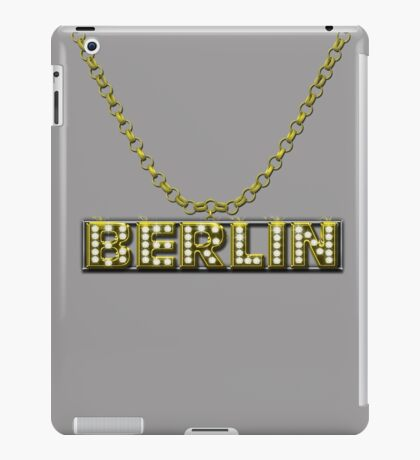 Berlin Bling Bling Goldkette iPad Case/Skin