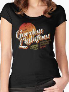 Gordon Lightfoot Women's Fitted Scoop T-Shirt