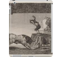 Francisco de Goya   Otra locura suya en la misma plaza Another Madness of His in the Same Ring iPad Case/Skin