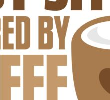 BABY sitter powered by coffee Sticker