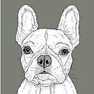 French Bulldog Portrait by Adam Regester