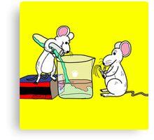 Lab Mice Canvas Print
