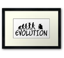 Jedi Evolution Framed Print