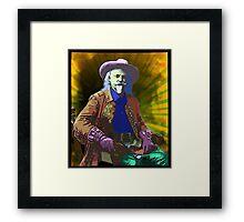 Buffalo Bill Cody - Psychedelic Framed Print