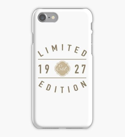 1927 Limited Edition iPhone Case/Skin