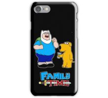 Family Time by Chris 51 iPhone Case/Skin