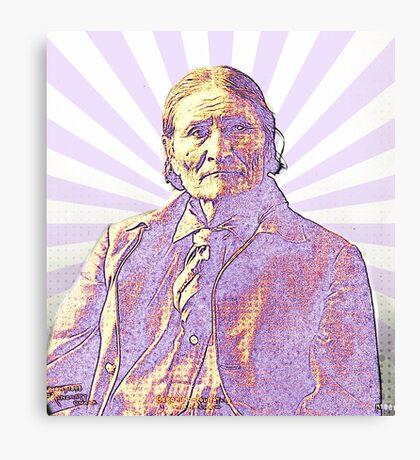 Geronimo - Psychedelic Apache Canvas Print