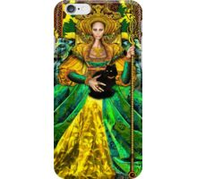 Queen of Wands iPhone Case/Skin