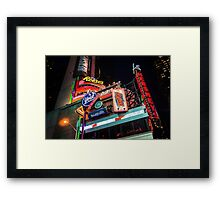 Heavy Load of Culture Framed Print