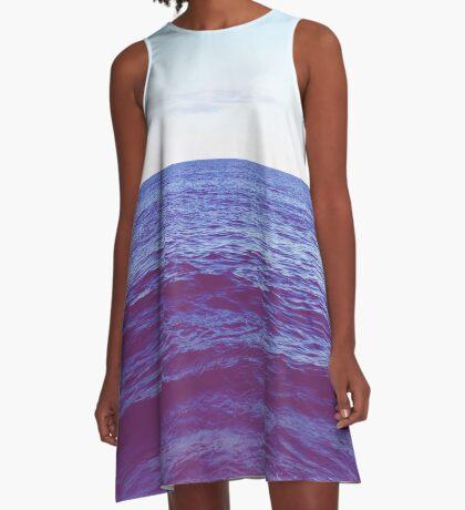 Ocean A-Line Dress