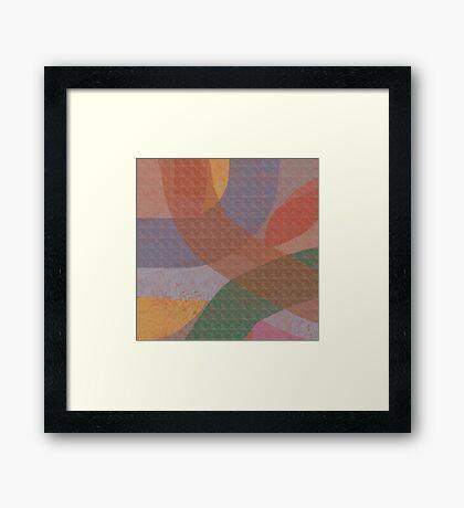 Pantone 2016 Abstract Framed Print