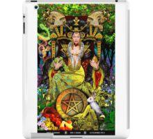 Queen of Pentacles iPad Case/Skin