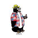 Party Penguin by Rich Diesslin
