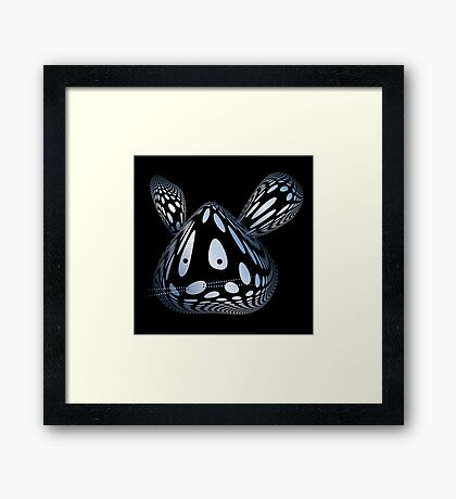Bubble Mouse Framed Print