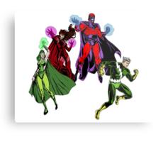 Magneto's Family Metal Print