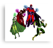 Magneto's Family Canvas Print