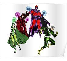 Magneto's Family Poster