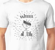 Winner at life Unisex T-Shirt