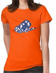 Identical Twins - Bolder Blue Womens Fitted T-Shirt