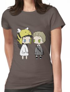 Babies Cas and Dean Womens Fitted T-Shirt