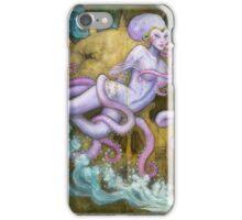 Mermaids of the Deep: Antarctic volcanic octopus iPhone Case/Skin
