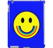 Rainbow Smiley Face iPad Case/Skin