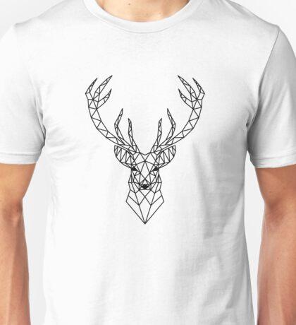 Geometric deer head Unisex T-Shirt