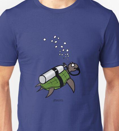 SCUBA Turtle Unisex T-Shirt