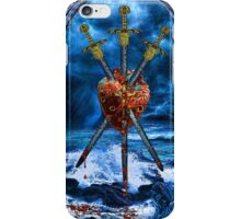 3 of Swords iPhone Case/Skin