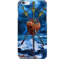 3 of Swords iPhone Case/Skin