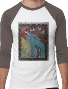 Allmarine - Abstract Men's Baseball ¾ T-Shirt