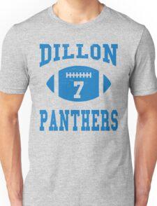 Retro Vintage Dillon Panthers Number 7 Unisex T-Shirt