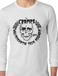 The Cramps Psychotic Teen Sounds Long Sleeve T-Shirt