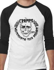 The Cramps Psychotic Teen Sounds Men's Baseball ¾ T-Shirt