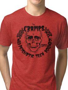 The Cramps Psychotic Teen Sounds Tri-blend T-Shirt