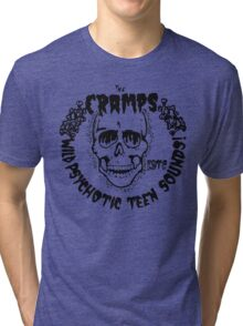 The Cramps Psychotic Teen Sounds Tri-blend T-Shirt