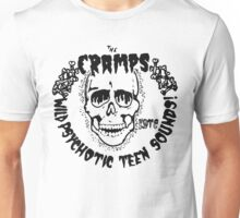 The Cramps Psychotic Teen Sounds Unisex T-Shirt