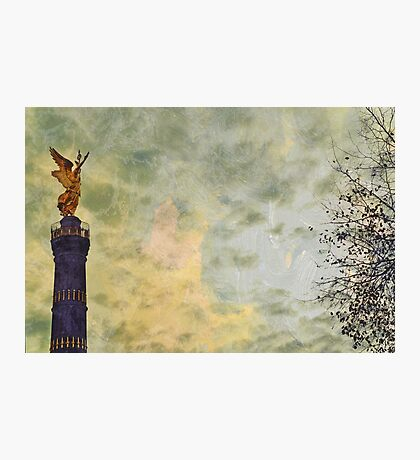 Goldese on the Victory Column Photographic Print
