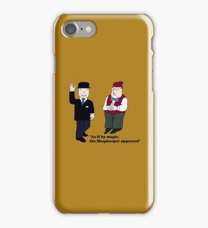 Mr Benn and the Shopkeeper iPhone Case/Skin