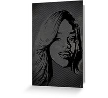 The gRey Series - R Greeting Card