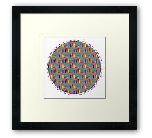 Pencil & Squiggles Framed Print